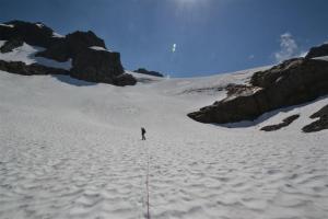 On the lower Geri-Freki Glacier