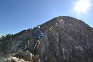 The final ridge of Hugin.