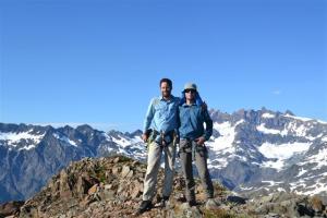 On the summit of Hugin.