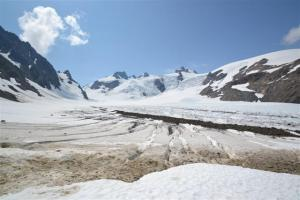 On the Lower Blue Glacier.